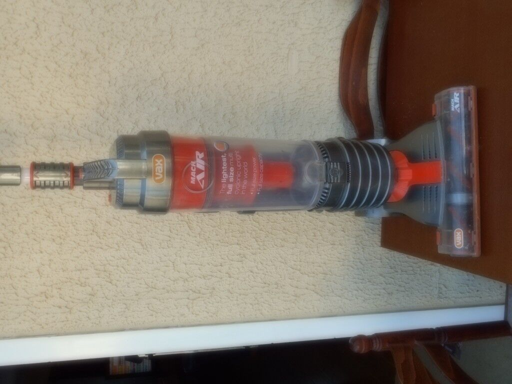 Vax Upright Vacuum cleaner (mach air 6)