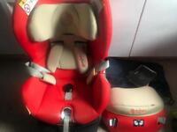 Cybex sirona car seat, forward and rear facing 0-4 years.