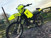 2007 Yamaha dt 125 re flo yellow neon full engine rebuild SWAP wanted