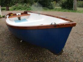 11ft3 grp quality dinghy