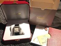 Cartier Santos Diamond Watch