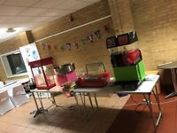 Slush Puppy Machine/Candy Floss Machine/Popcorn Machine/Chocolate Fountain HIRE!
