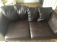 Two two seater sofas