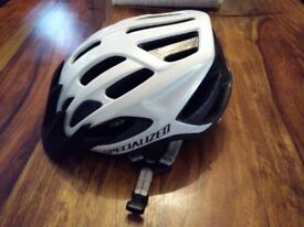 Specialized Align Cycling Helmet, 54-62cm, White, V.Good Condition