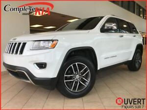2016 Jeep Grand Cherokee Limited 4X4  TOIT OUVRANT CUIR