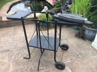George Forman stand for BBQ grill