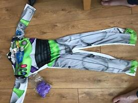 Child's buzz light year costume (still packed NEVER BEEN WORN)