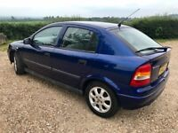 2003 VAUXHALL ASTRA CLUB 1.7 DTI - 87k MILES - MOT MAY 2019 - HPI CLEAR - 3 FKeeper-3 SERVICE STAMPS