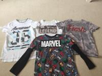 Boys tops to fit around 6 Years - x4