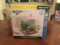 Fish Tank 25L Aqua One - Aqua Pendant Sells in Pets At Home for £65 Used for a couple of months