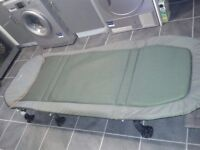 Brand new unused chub bed chair still has £140 price tag on from shop