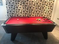 Supreme Pool Table fantastic colour