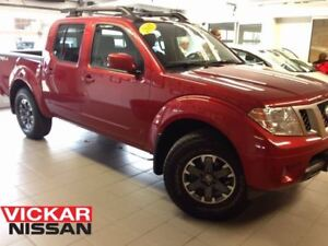 2015 Nissan Frontier PRO-4X/1 OWNER LOCAL TRADE/NAVI/MOONROOF!!