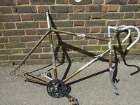 Carlton Vintage Bike frame set for Project