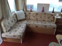 Perfect Family Starter Caravan with fees already paid on Northumberland Coast open all year