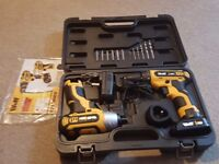 Drill and impact Driver set
