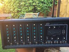 PA amplifier by peavey mixer amp