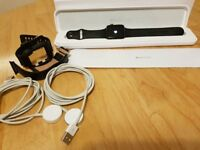 Apple watch 1 42mm Boxed with extras inc 2 original Apple magnetic charging leads and extra straps