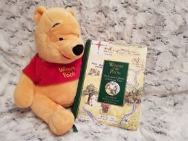 Winnie the Pooh Soft Toy & The Complete Collection of Stories and Poems Book