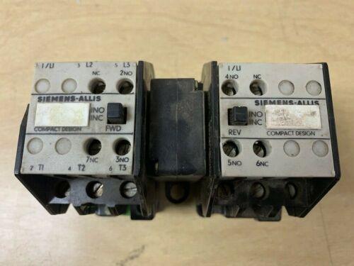 SIEMENS C211C CONTACTORS (2)  B142