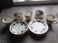 Colclough Ivy Leaf Design Vintage Tea Set