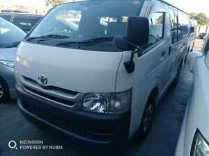 TOYOTA HIACE AUTO TURBO DIESEL 2009 WITH 3 YEAR WARRANTY Yagoona Bankstown Area Preview