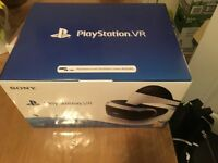 Sony PlayStation vr headset Brand New with receipt