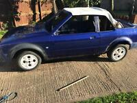 Escort mk3 cabriolet with rs turbo engine/ box /loom