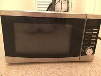 Small unbranded microwave