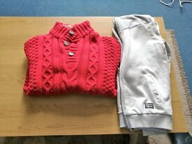 Boys Jumper and Zipped Hoody
