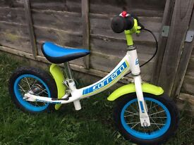 Children's balance bike with bell - £10 - collection from SE9