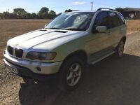 2003 BMW X5 3.0I LPG (GAS AND PETROL) 4x4