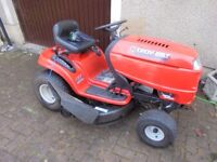 """42"""" cut ride on Troy Built lawn mower £800 or nearest offer"""