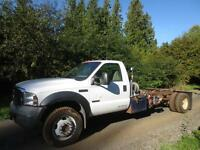 2006 Ford XL F-550 4x4 Diesel Pressure truck LOW KMS
