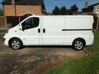 Private Seller, No VAT. LWB Vauxhall Vivaro sportive 63 plate, fully ply lined.