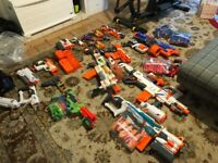 Massive Bundle of NERF GUNS and Accessories