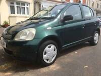 Toyota Yaris 2002 5 door 1 litre