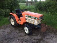 Kabota 4x4 compact tractor