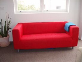 Red Sofa **Excellent Condition**