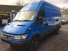 Iveco daily 6.5 ton 2006 3.0 hpi 6 speed breaking