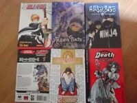 Manga books incl death Note