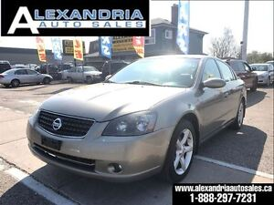 2005 Nissan Altima 3.5 SE leather sunroof safety included