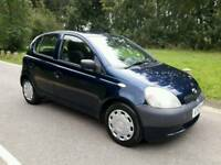 TOYOTA YARIS 1.0 2003 MOTD TIL APRIL 2018 DRIVES PERFECT TEL.07377926604