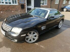 Black Chrysler Crossfire excellent condition lovely looked after keeper in garage as a weekend car