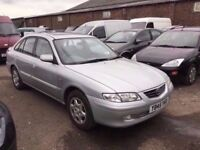 2001 MAZDA 626 WITH FULL SERVICE HISTORY THOUSANDS SPENT LOVELY DRIVER IN VGCONDITIONPX WELCOME