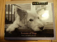 BOOK Portraits of Dogs PAWFILES A BARK & SMILE BOOK pictures photos gift present Pug Westie Terrier