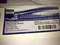 Stone Roses Manchester 17th June - Standing £40