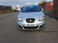 2013 SEAT ALTEA 1.6 DIESEL.FULL YEAR MOT,SERVICE HISTORY,LOW MILEAGE ,CHEAP INSURANCE,CHEAP ROAD TAX
