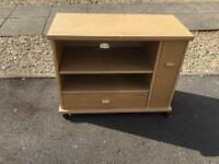 Tv stand lockable