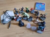 Disney infinity game with caracters
